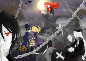 Halloween Wonderland by TiiteMiissdu69