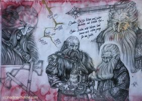 Balin and Dwalin by NadineThome