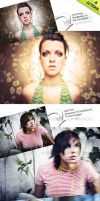 4 Photoshop Actions by thebebel