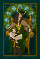 Lady Loki by phantoms-siren