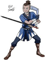 Sokka by VGAfanatic