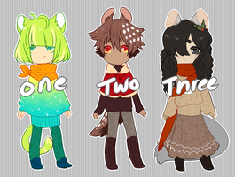 sweater weather adopts [ OPEN ] by crwns