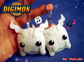 Digimon - Tokomon plushie by Yui-Lee