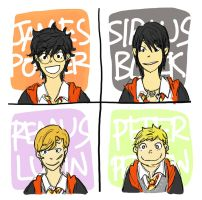 HP: We Are The Marauders by stupit-apit