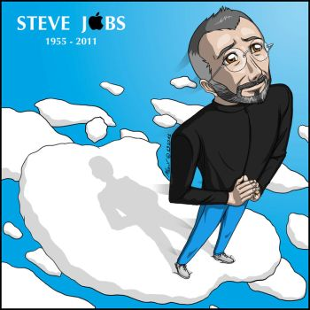 Steve Jobs by NaguX