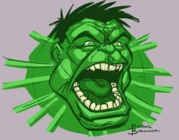 Hulk Mad Warm Up by MBorkowski