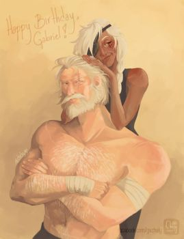 Reinhardt and Ana by Chely103