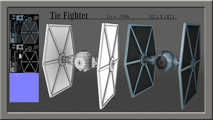 Tie Fighter by Snipefox654