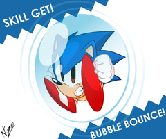 Sonic got Bubble Bounce! by NkoGnZ