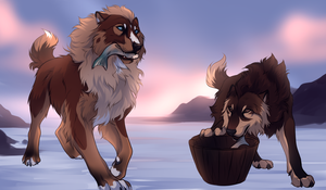 ROM: Hanji and Reese by Ilanni