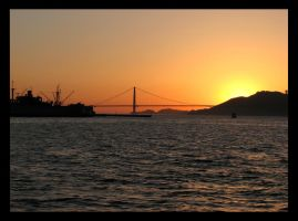 The San Francisco Sunset by khammond
