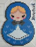 Cute Babushka Doll by PerlerPixie