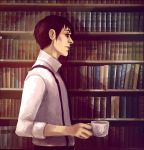 Hiding Behind Books by andrahilde