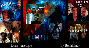 Icons Seasons Farscape by BellaBlackCullen