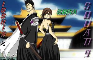Squad 9 - Isshin and Sora Com. by KentuckyRedneck