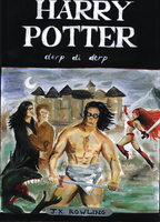 Alternative Harry Potter cover by fera-festiva