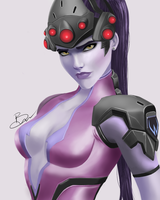 Widowmaker by toffeecup