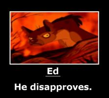 Ed sees. He disapproves. by will-o-the-wispy