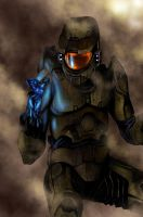Halo-Master Chief and Cortana by Killrave