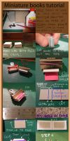 Mini books tutorials by Pandannabelle
