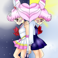 The Other Side of Rini/ChibiUsa by anthirules