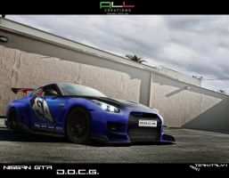 Nissan GTR DOCG Team Italy 1 by LazziTuning