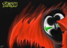 Spawn Close Up by xanderw