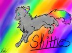 Skittles  Free Request For Ixflashxi by Hyenadon-Todd