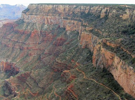 Canyon Wall by vseger
