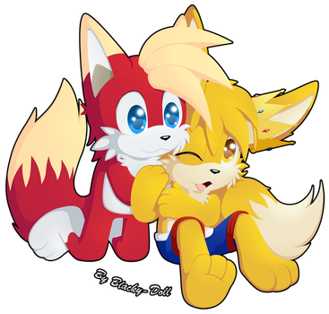 GT:Banto and Prince Rigel by Blacky-Doll