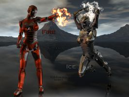 Fire and Ice by TLBKlaus