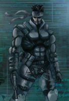 Solid Snake by superhermit