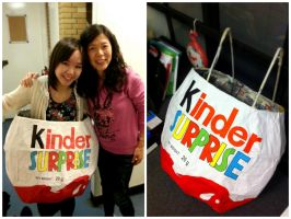 Kinder Surprise Egg Costume by finance-in-my-pants