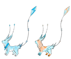 Kite tail adopts (closed) by littleadopt