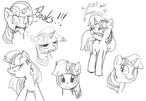 Twilight Sketches by Nac0n