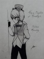 Five Nights At Freddy's Golden Freddy anime ver. by UnitInfinity