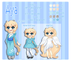 [ OC ] Aya Reference by JiggIyPuff