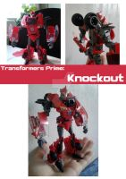 TFP Figure - Knockout - Robot Mode by SuzyHadow