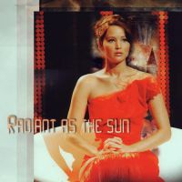 radiant as the sun katniss by litlemusa