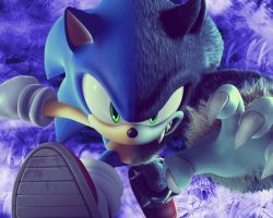 sonic the werehog by Sonicx1661