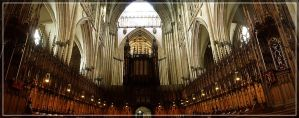 York Minster - Choir and Organs by WormWoodTheStar