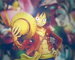 Luffy-kun by CloudyBaby