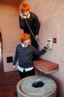 Fred and George Weasley: Mischief Managed by ChroniclesofDestiny