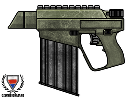 Fictional Firearm: HC-260 Pistol by CzechBiohazard