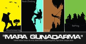 Sticker MAPA Gunadarma 4 Divisi by boankagaints