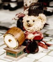 Drummer Bear by Irreality