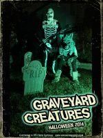 GRAVEYARD CREATURES 1 by Hartman by sideshowmonkey