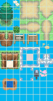 Pokemon BW Style Outdoor Tiles by DaSpirit