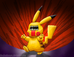 Daily 144- Hey You, Glitchychu! by TheAlienBanana