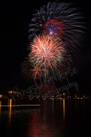 Fireworks over the Bay by SimpleLittleBell